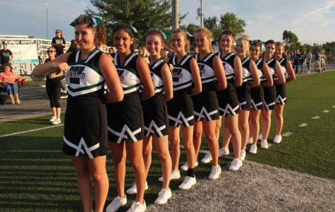 Cheer squad works hard to have successful season