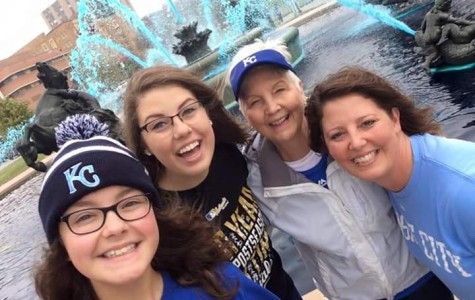 "Kansas City Royals ""crowned,"" students and faculty celebrate"