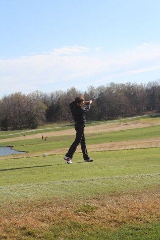 Players strive to improve on the course