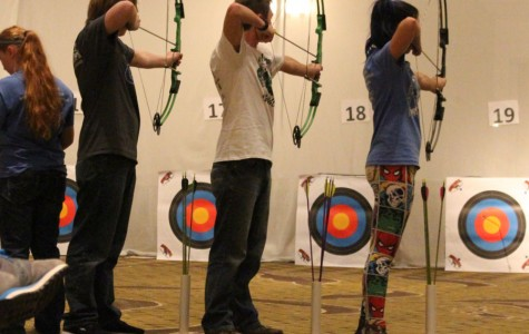 Newell, Brown shoot at state archery competition