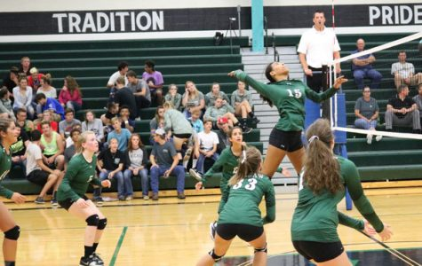 Volleyball team pushes themselves to 'rise above' negative attitudes