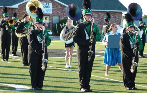 Band spends months preparing