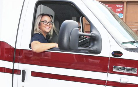 Two seniors gain emergency response training on EMT ride alongs
