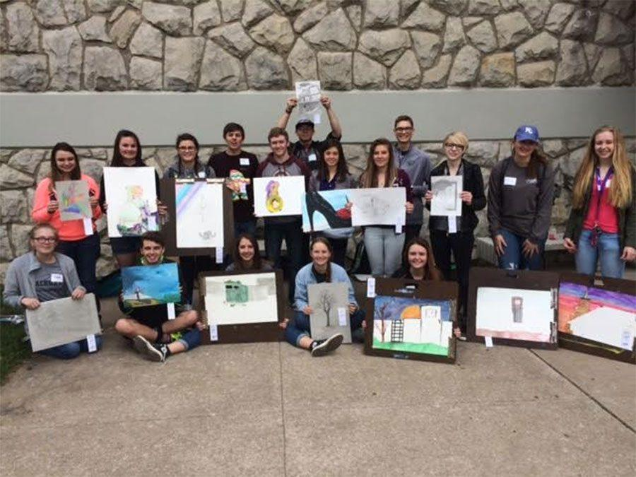 Students find success at UCM art competition