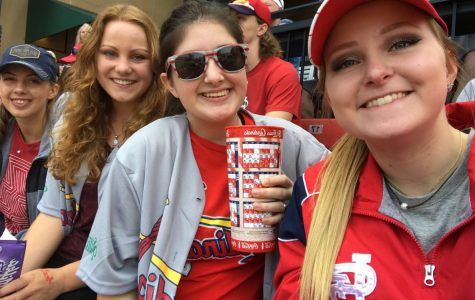 NHS students attend St. Louis Cardinal baseball game