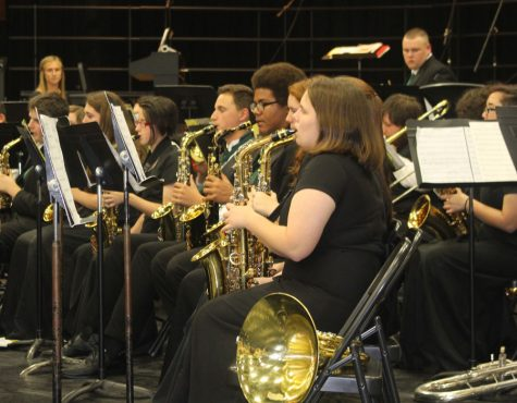 Band and choir groups receive one ratings at state large ensemble contest