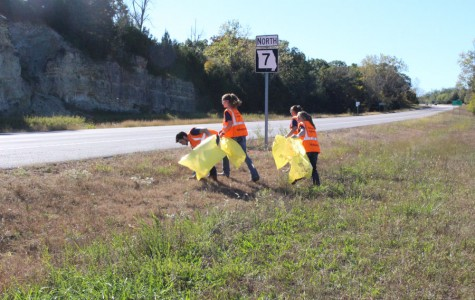 NHS cleans up community highway
