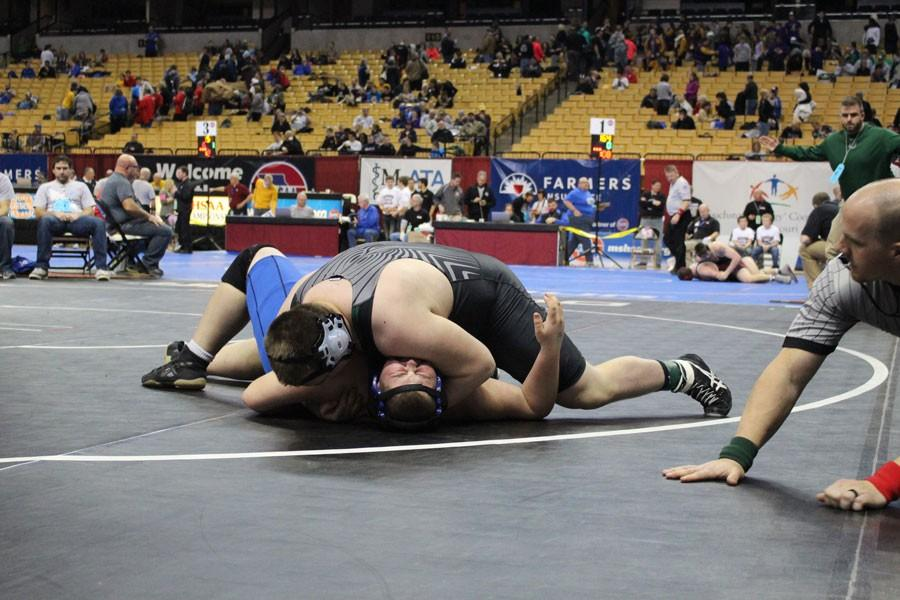 Wrestlers motivated by desire to improve