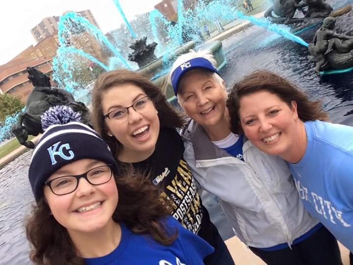 Kansas+City+Royals+%E2%80%9Ccrowned%2C%E2%80%9D+students+and+faculty+celebrate