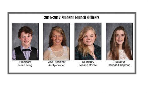 New students elected for 2016-2017 Student Council