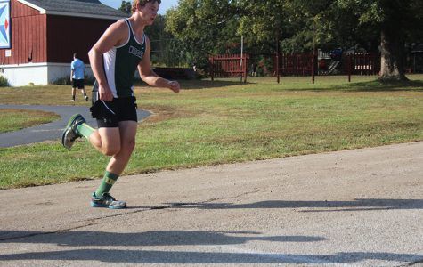 Cross Country team prepares for district run