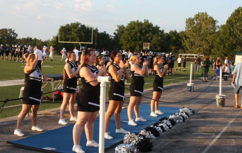 Cheer team enjoys increased game attendance