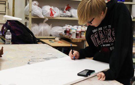 Artist Corner: Senior communicates emotion through art