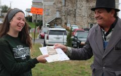 Students visit the past during 36th annual town-wide event