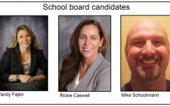 Three vie for school board vacancies