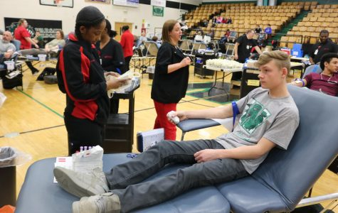 School hosts annual blood drive, breaks previous record