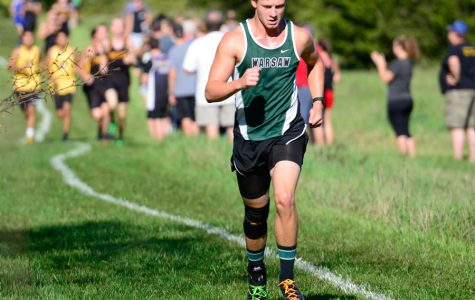 Cross country runners overcome obstacles