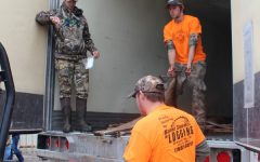 Students get serious about hunting, volunteer for handicap hunt