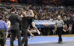 Estes takes state championship after lifetime of work, Stephens makes first appearance on MO state mat