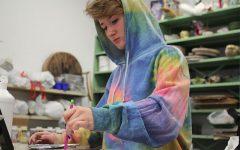 Senior finds joy through self expression in visual art