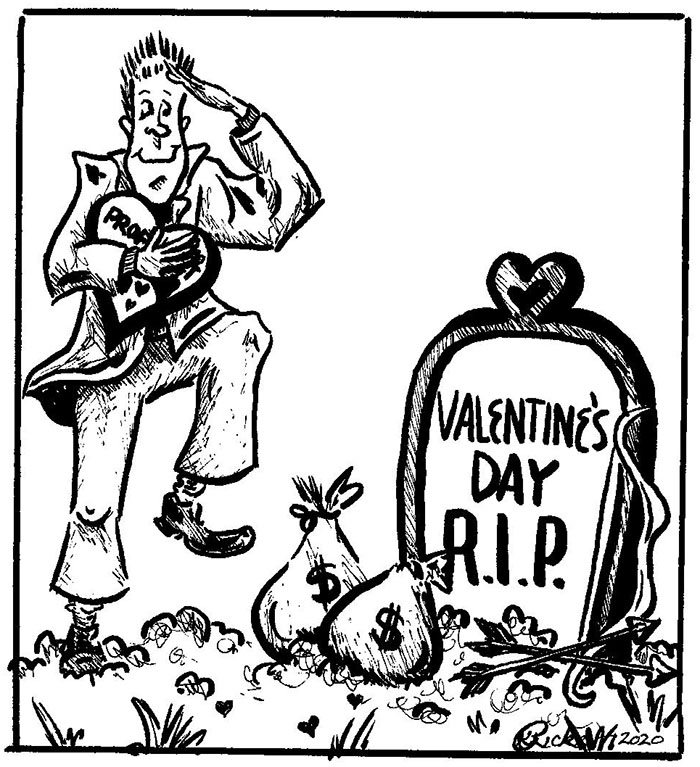 Is Valentine's Day dead? I don't know, is Valentine's Day dead?