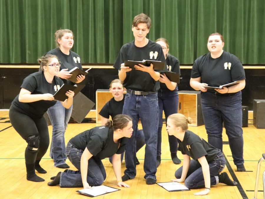 Four qualify for canceled state speech after district contest