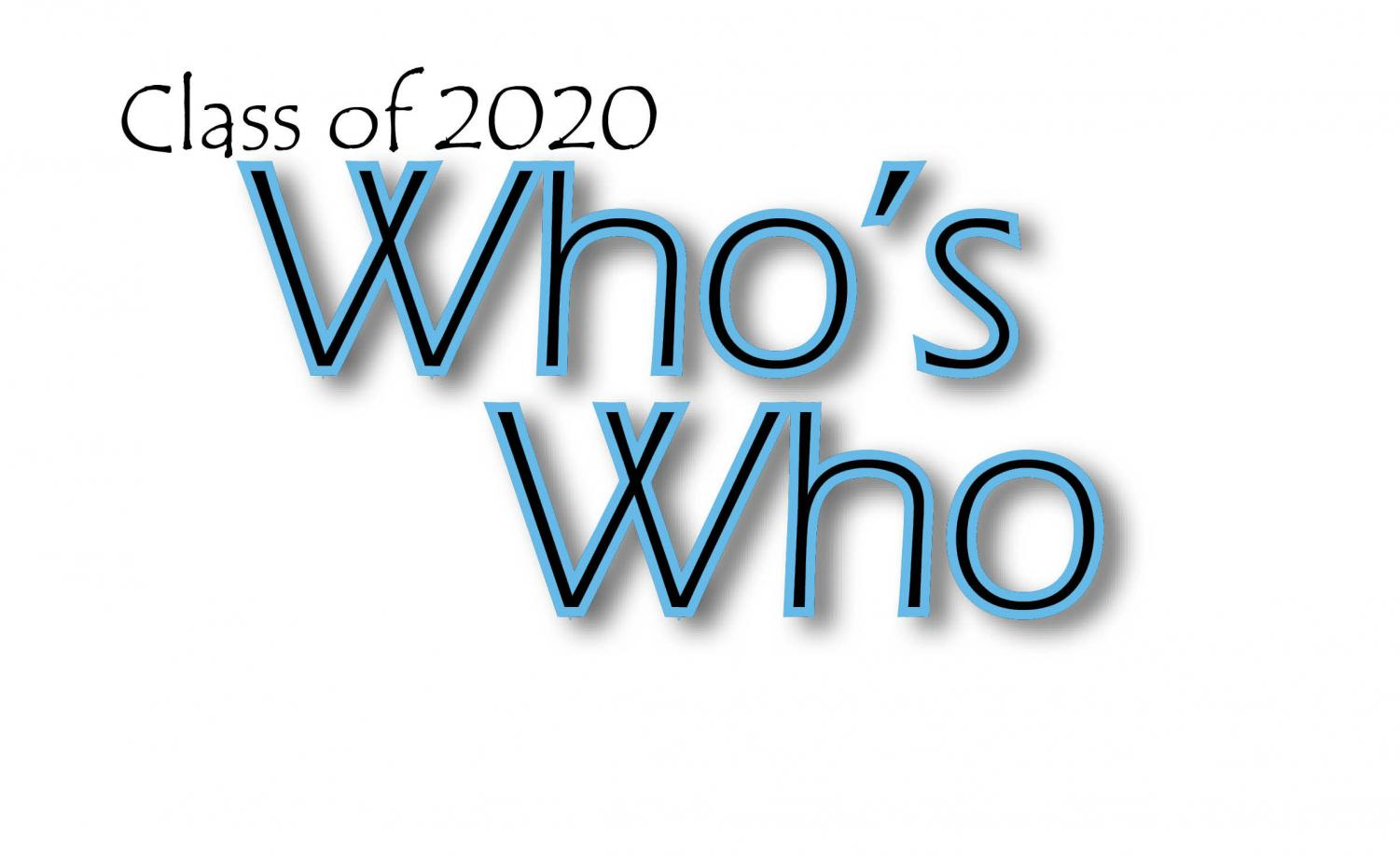 Class of 2020 Who