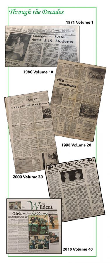 School newspaper celebrates 50 years of publication