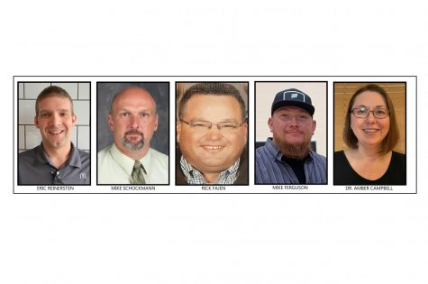 Five candidates run for two school board positions April 6