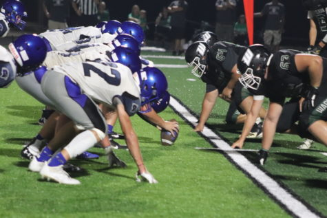 The Wildcat defense faces off against Cole Camps offense.  The Wildcats took the win 36-6.