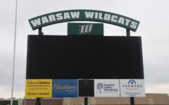 Randy Morrow Field underwent an upgrade this summer with the addition of a press box, new scoreboard and new turf.